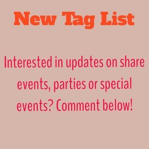 Other - Special tag list !!
